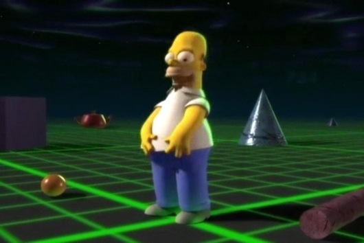 Homer lost in 3D
