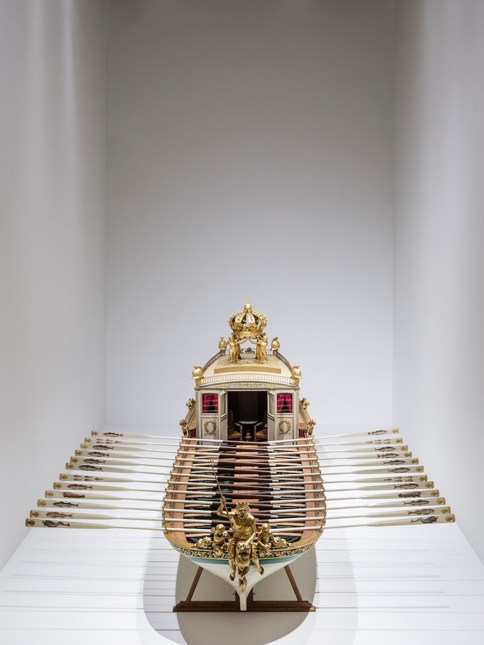Model of-Bonaparte's galley
