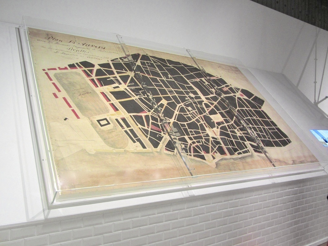 Original Verly map 1803
