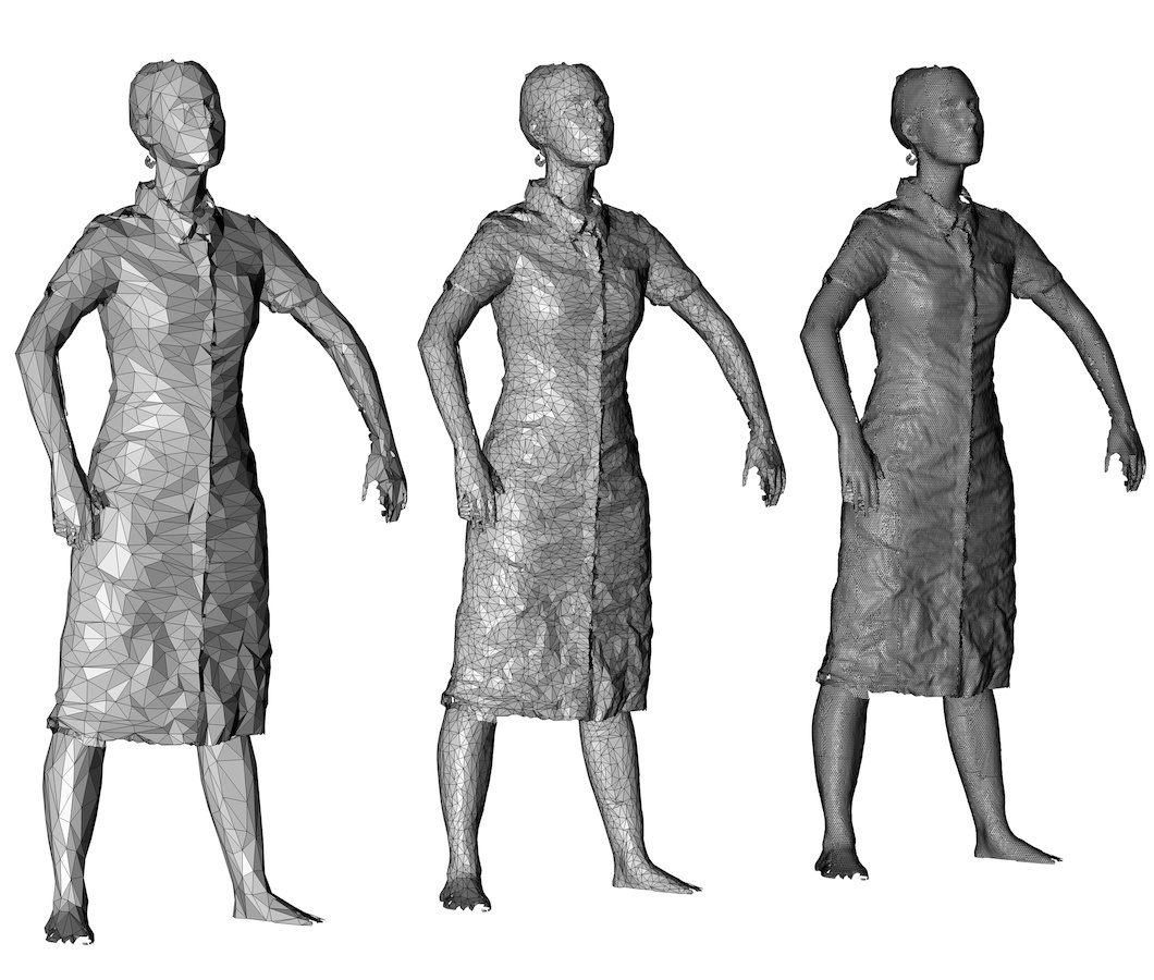 Full body 3d scan