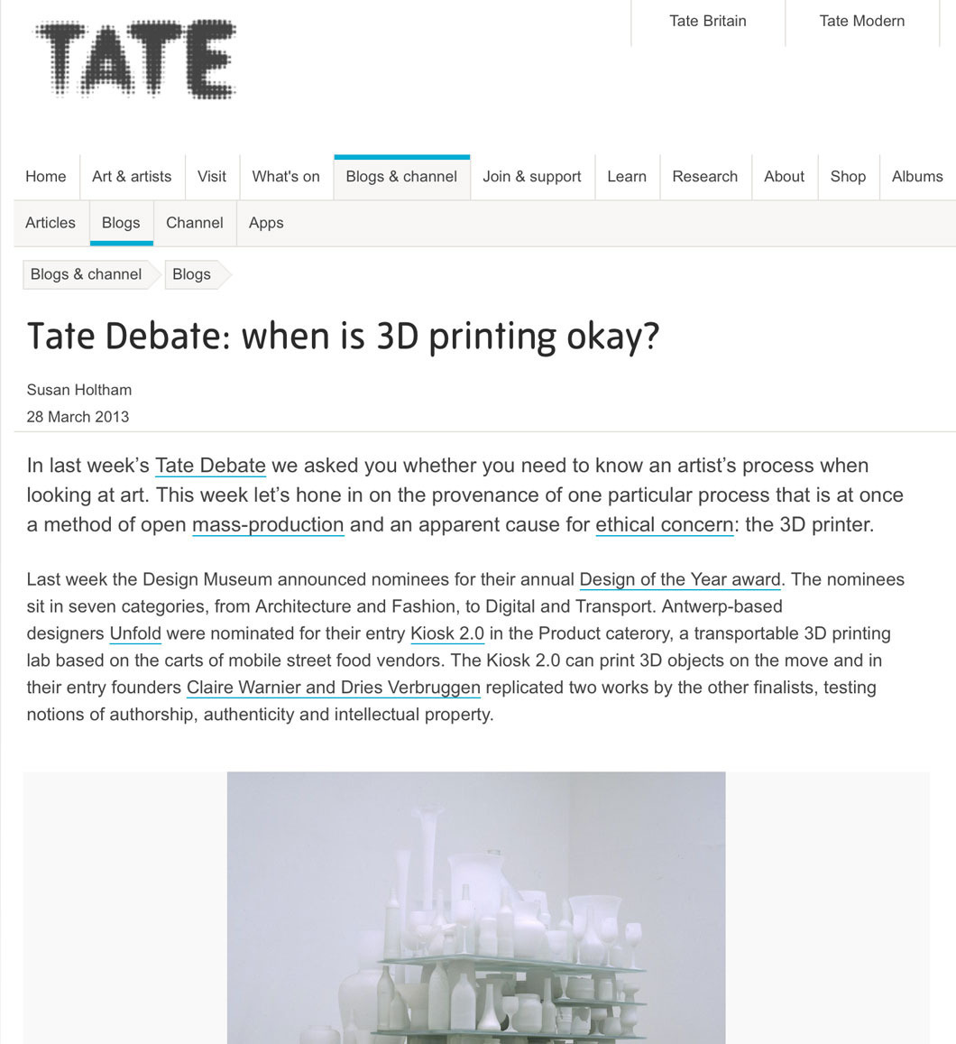 Tate website