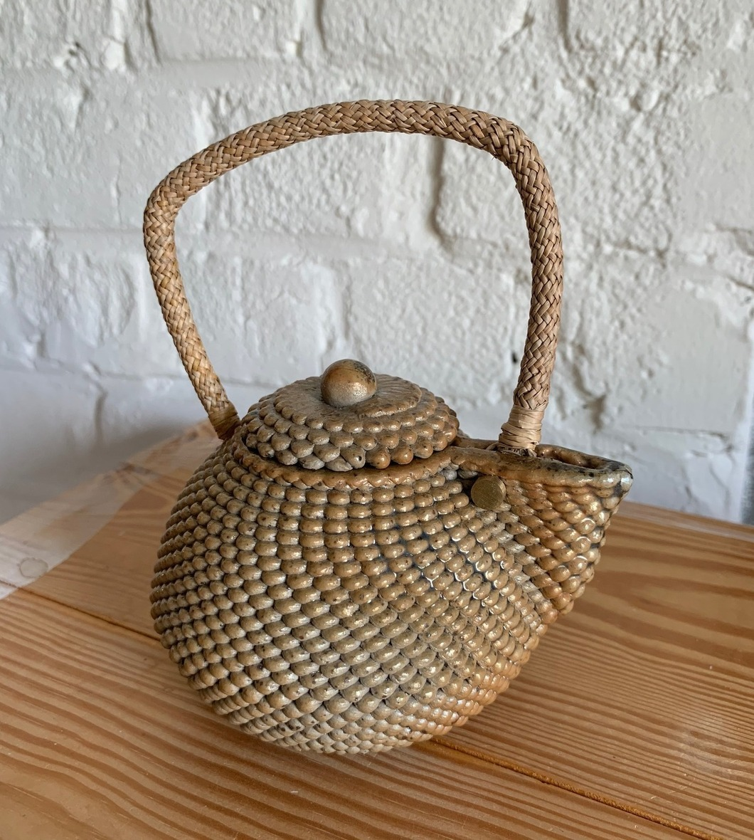 wood fired teapot by-FabCraft, TW